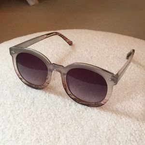 Free People Round Ombré sunglasses